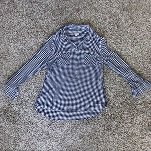 Merona Flannel Top